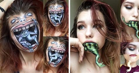 Makeup Base Makeover masterful horror makeup by 19 year artist