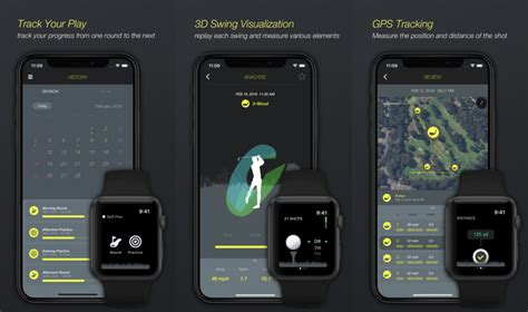 apple golf swing analyzer golf plus apple watch app aims to replace expensive golf