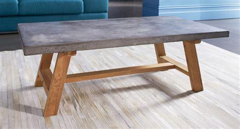 white concrete table top concrete coffee table base diy concrete