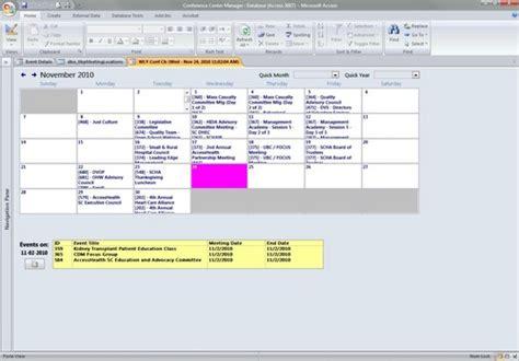 Access Calendar Ms Access Calendar Page 7 Microsoft Access Vba