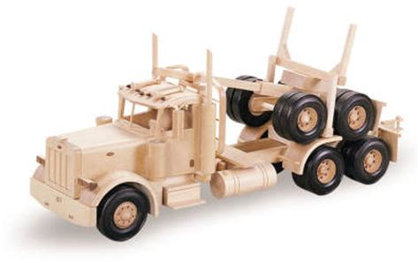 logging truck woodworking pattern