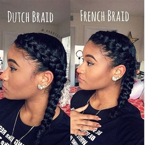 chrissy lkin 2 french braids styles 10 hot go to summer hairstyles on natural hair dutch