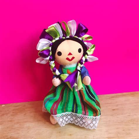 mexican rag doll mexican doll rag doll handmade doll cloth doll by