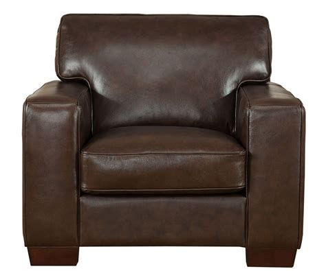 kimberlly full top grain dark brown leather chair