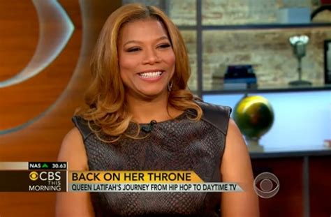 latifah talks new documentary and daytime tv talk