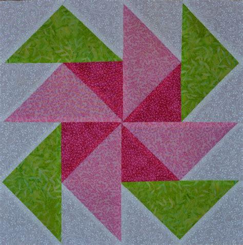 Pinwheel Quilt Block by Chock A Block Quilt Blocks Pinwheel Flowers