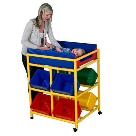 mobile for changing table x wide mobile changer cf905 060 changing tables for daycares changing station