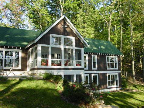 Leed Certified Home Plans new urban home builders burgess lake cottage
