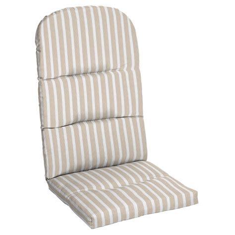 Sunbrella Adirondack Chair Cushions by Home Decorators Collection Sunbrella Shore Linen Outdoor