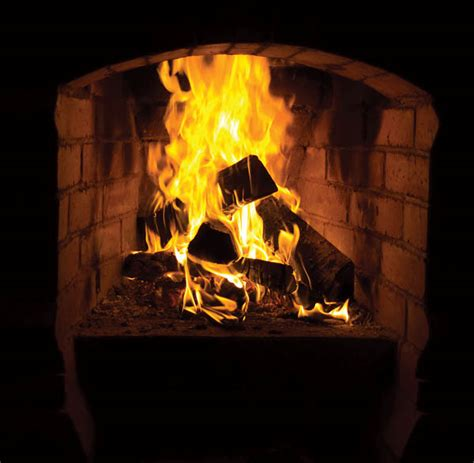 Fireplace Burning by Wood Burning Fireplace Conversion Kvriver