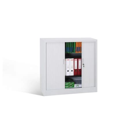 armadi a serrandina armadio a serrandina 4 ripiani cm 120x45x200 grigio