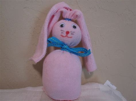 sock bunny sewing tutorial gift ideas sock bunny