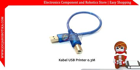 Murah Kabel Usb To Printer 10meter kabel usb printer 0 3 meter toko komponen elektronik