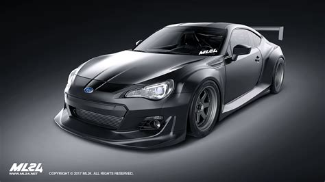 subaru brz body ml24 automotive design prototyping and body kits
