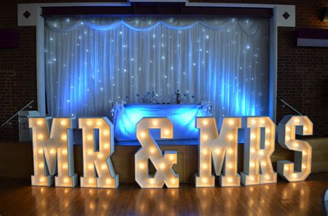 Wedding Venue Backdrop by Fairylight Led Backdrop 6mx3m Hertfordshire Events