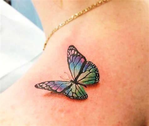 tatuaggi fiori 3d tatuaggi farfalle 200 foto e idee a cui ispirarsi