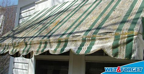 how to clean outdoor fabric awnings ask wet forget see 8 places where wet forget outdoor