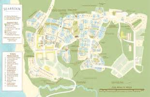 seabrook map seabrook driving directions map cottage rentals map