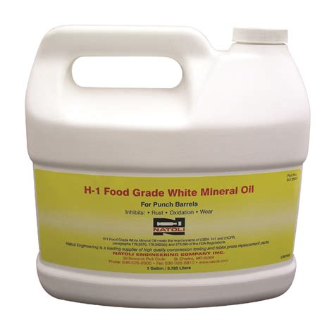 1 gallon food grade white mineral h 1 food grade 1 gallon