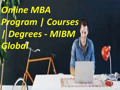 Temple Mba Global Mba Credits by Mba Admission Pg Courses The Scope For A Mibm Global