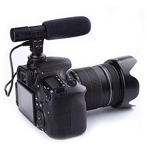 best external microphone for dslr and cameras universal 3 5mm direction external microphone for nikon
