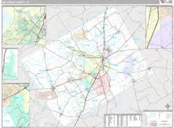 map of mclennan county mclennan county tx wall map premium style by marketmaps