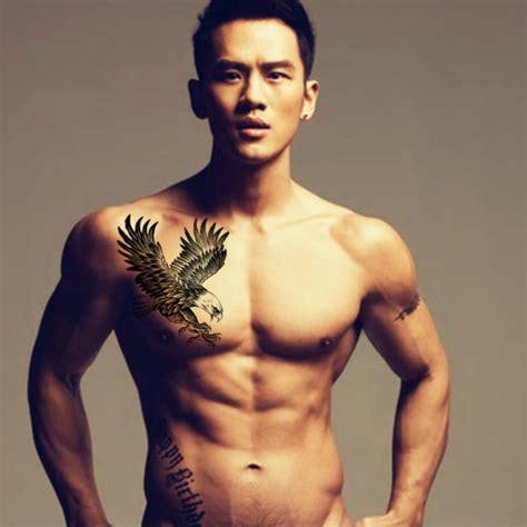 tattoo of us fake 1pcs flying eagle fake tattoo arm bird body art hawk