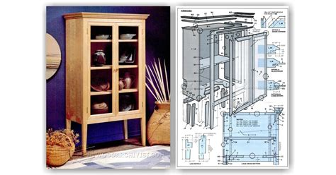 armoire plans woodarchivist