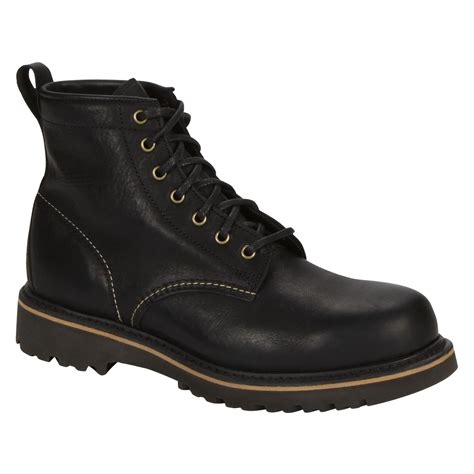 craftsman boots craftsman work boot black step up to the task with sears