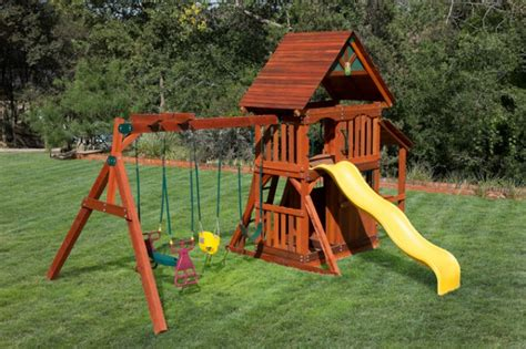 playhouse with swing set playset with playhouse westtexasswingsets