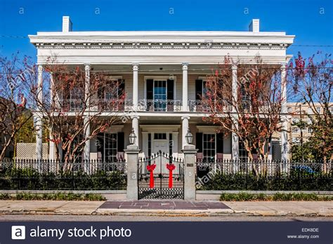 french colonial style french colonial style house in the garden district of new