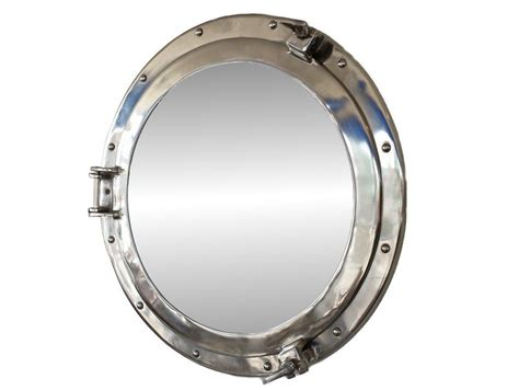 porthole mirror wholesale deluxe class chrome porthole mirror 20 quot model