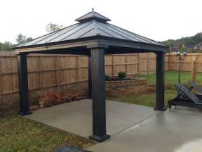 Aluminum Gazebo by Why Choosing Aluminum Gazebos Gazebo Ideas