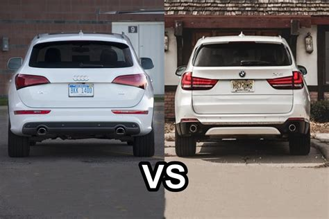 Audi X5 by 2016 Audi Q5 Vs 2016 Bmw X5 Design