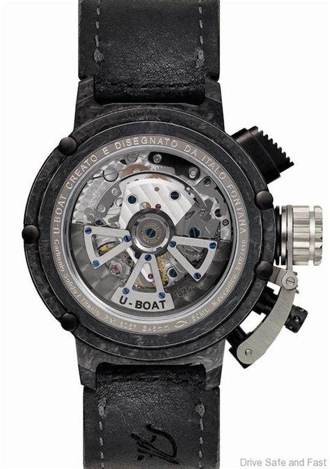u boat watch chimera 46 carbonio limited edition u boat chimera 46 limited edition in titanium carbon