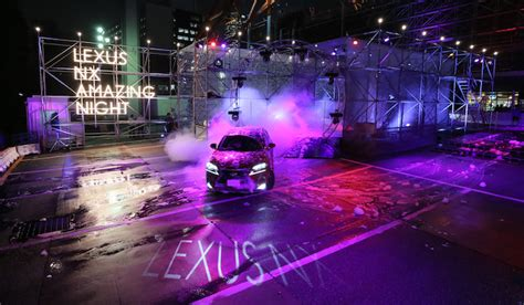 lexus night lexus nx amazing nightが開催 lexus ギャラリー web magazine openers