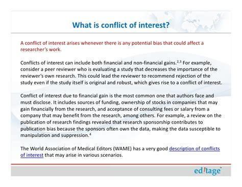 conflict of interest disclosure form template conflicts of interest
