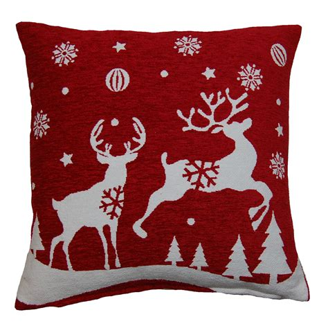 christmas l shade covers festive christmas cushion covers decorative xmas festive