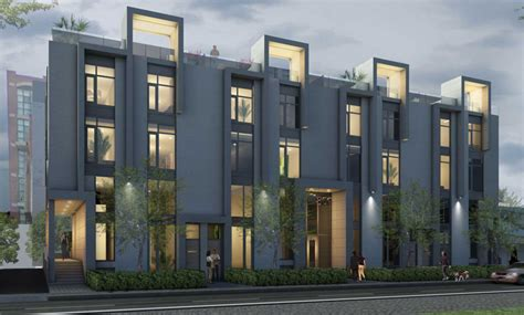 modern row houses modern architecture rowhome joy studio design gallery