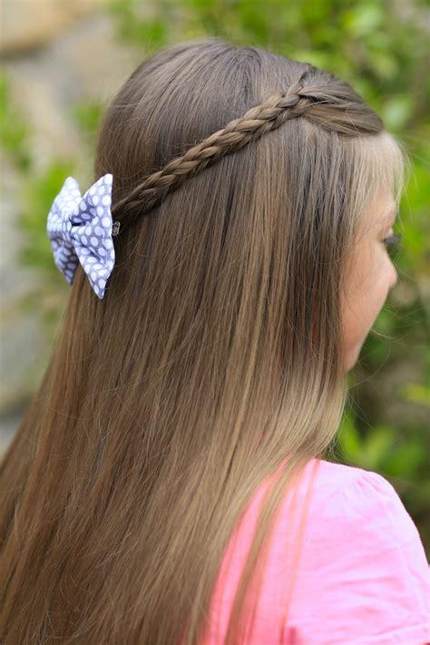 cute hairstyles using braids 3d split braid three different looks cute girls hairstyles