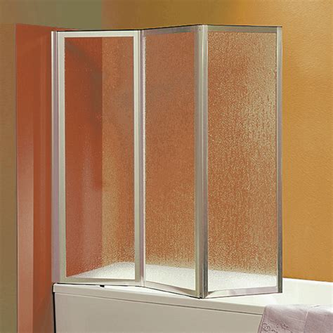parete pieghevole per vasca da bagno parete vasca pieghevole 500 da 140 cm in crilex 3 mm