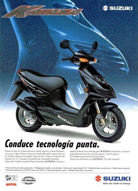 Suzuki Katana 50cc Suzuki Katana Ay50 Brochures And Adverts