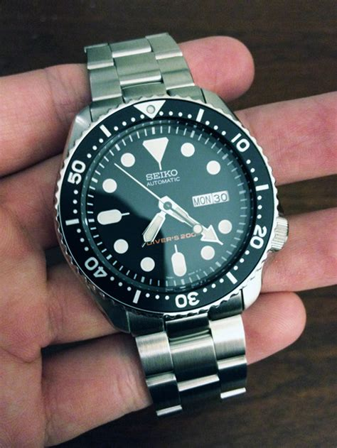 My new Seiko SKX007 on a Super Oyster Bracelet : Watches