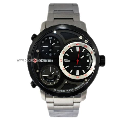 Expedition E 6718 jam tangan expedition e6718 m bsl stainless steel