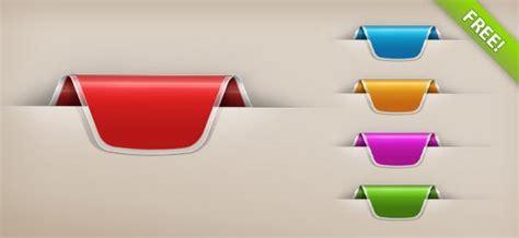 website ribbon tutorial ribbon psd vector files psddude