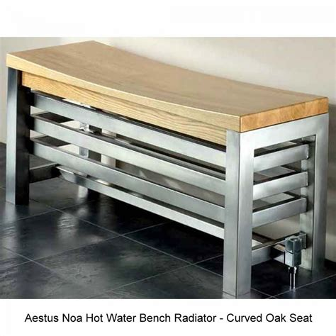 bench radiators aestus noa bench radiator 700 w mm uk bathrooms
