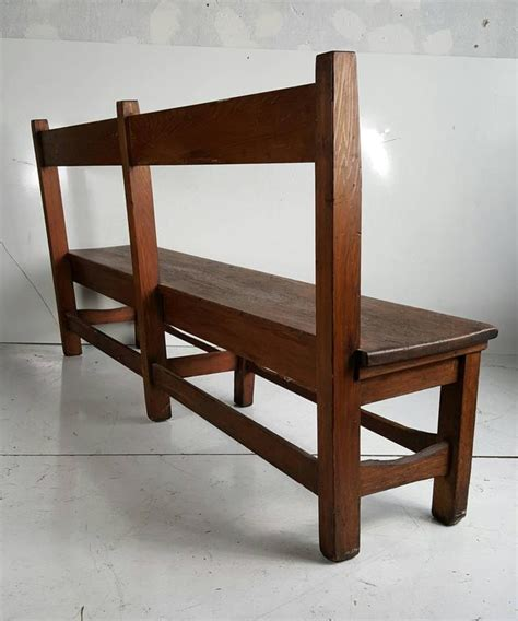 arts and crafts settee arts and crafts primitive bench or settee 19th century