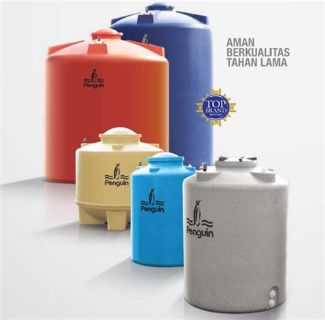Toren Penguin Stainless supplier tandon air tangki air pinguin profil tank