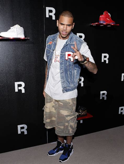 Converse Hi Grey Jk Cb Nevy fashion me dope 10 pictures of chris brown styling on