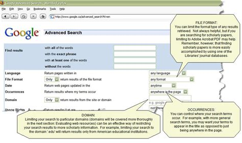 Yahoo Advanced Search Web Research Tutorial